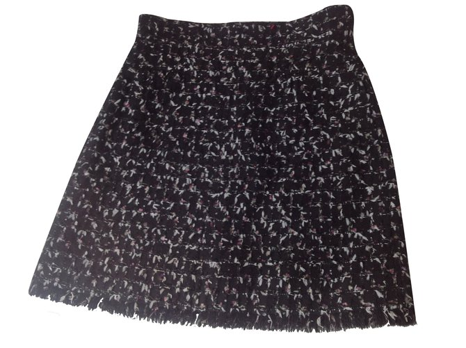 2ef3b3543 Chanel Skirt Skirts Wool Black ref.34806 - Joli Closet