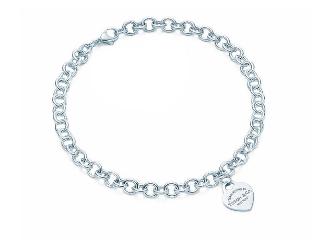 Colliers Tiffany   Co Collier Coeur Return to Tiffany Argent Argenté  ref.35119 3278b526c1a3