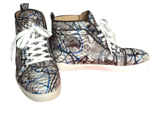 2b722ffd9f4d Christian Louboutin Sneakers Sneakers Leather Multiple colors ref.35494