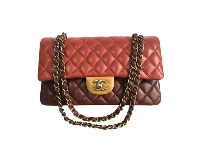 2f2adedb8804 Chanel Chanel Timeless 25 tricolor GHW Handbags Leather Multiple colors  ref.35497