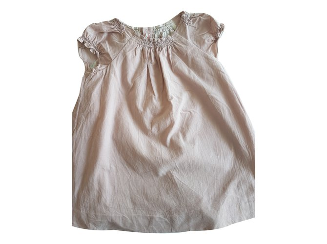 Robes fille Bonpoint Robe fille Coton Rose ref.35860