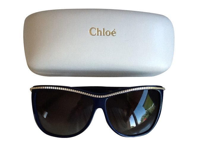 Chloé Sunglasses Sunglasses Plastic Blue ref.36083