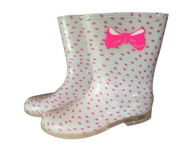 Bottes, bottines Billieblush Bottes de pluie Caoutchouc Rose ref.36594
