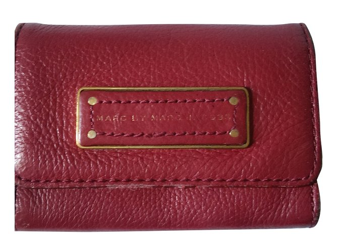 Marc by Marc Jacobs Wallets Small accessories Wallets Small accessories Leather Red ref.36983