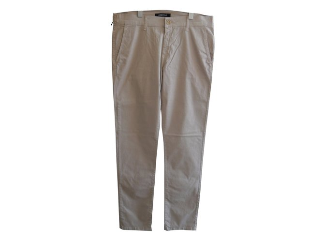 Karl Lagerfeld LAGERFELD BRAND NEW PANTS BEIGE CHINOS STYLE Pants Cotton Beige ref.37631