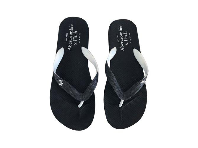 407d9d99ba994f Abercrombie   Fitch Men Sandals Men Sandals Other White