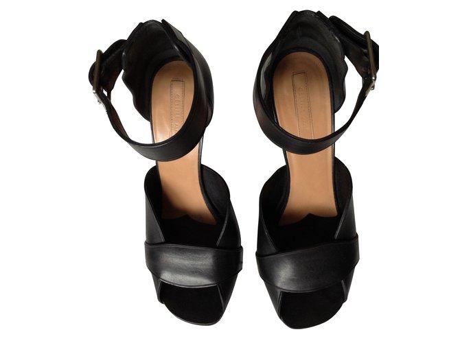 Leather Black Ref 38133 Céline Closet Sandals Joli qULGzVSMp