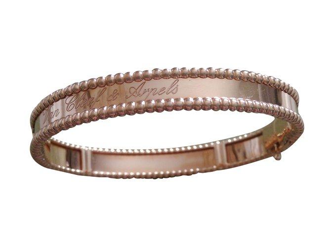 Van Cleef Arpels Bracelet Bracelets Pink Gold Ref 38256