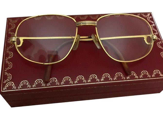 0e7880c42b Lunettes Cartier Romance Plaqué or Doré ref.38508 - Joli Closet