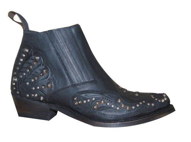 official reasonably priced meet Ash Ankle Boots Ankle Boots Leather Black ref.39069 - Joli ...