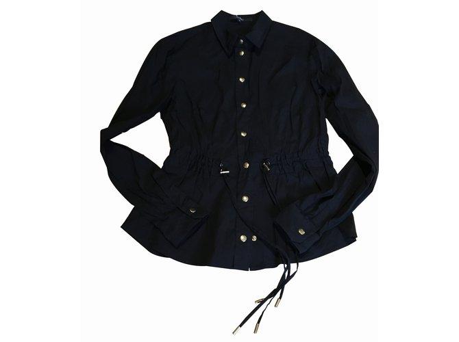 Vestes Gucci Veste Coton,Elasthane Noir ref.39275