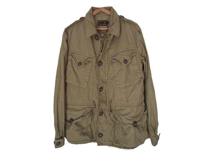 84ef842f6b6a02 Polo Ralph Lauren Blazers Jackets Blazers Jackets Cotton Khaki ref.39303