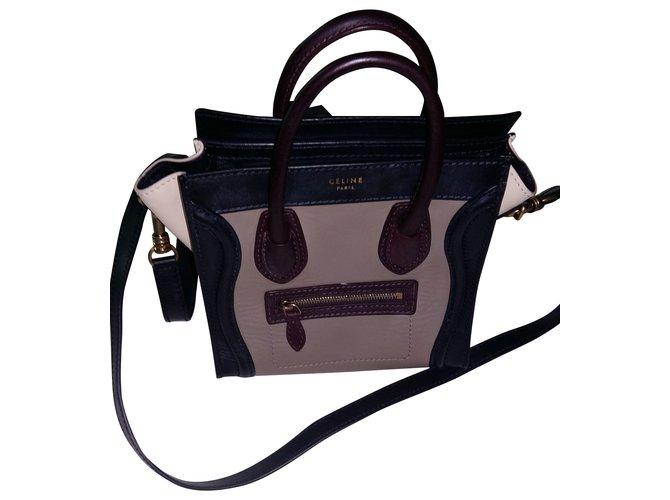Céline nano Luggage Handbags Leather Multiple colors ref.39955 ... 3a8508c392