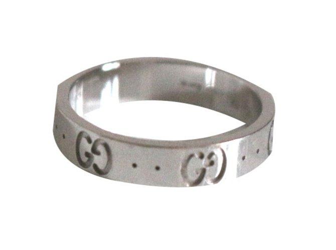 36920be8b Gucci Ring Rings White gold Silvery ref.40116 - Joli Closet