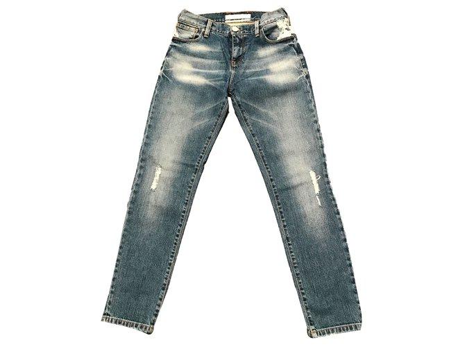 3f7c9cfaf68 Pinko Jeans Jeans Cotton Blue ref.40260 - Joli Closet