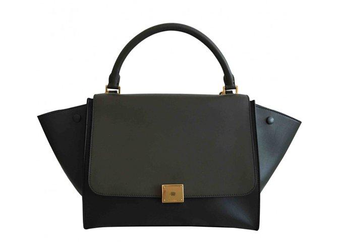 Céline Celine trapèze Handbags Leather Multiple colors ref.40447
