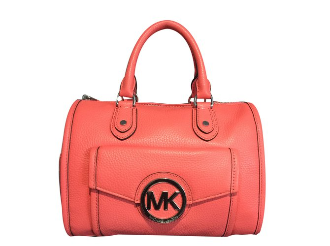 c0d25e69b8 Michael Kors Handbag Handbags Leather Coral ref.40986 - Joli Closet