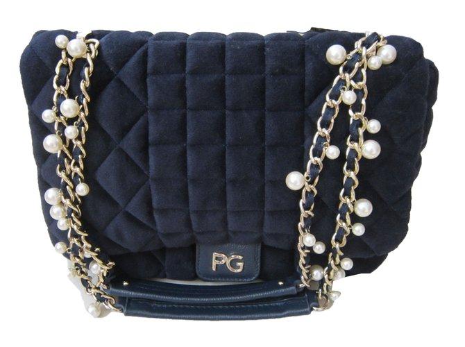 Purificacion Garcia Handbags Polyester Dark Red Ref 41043