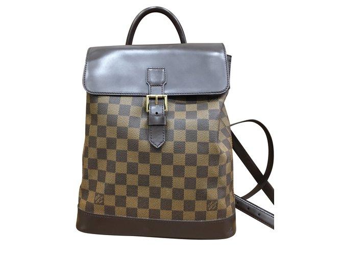Louis Vuitton SOHO backpack Handbags Synthetic Multiple colors ref.41481 3f3133372e73d