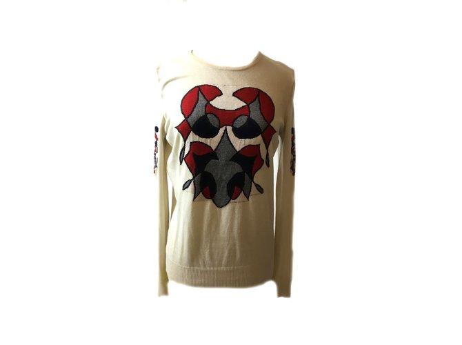 Chanel Knitwear Beige  ref.41535