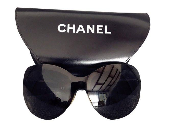 072baf4b06e Chanel Lunettes Solaire Chanel 4159 Sunglasses Plastic Black ref.41816