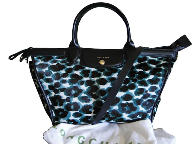244a36faa475 Longchamp LE PLIAGE HERITAGE Handbags Pony-style calfskin Black ref.41949