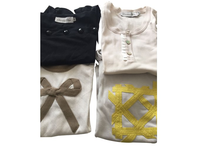 Christian Dior Tops Tees Tops Tees Cotton Other ref.42036