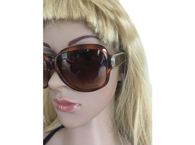 Chloé Sunglasses Sunglasses Plastic Brown ref.42068