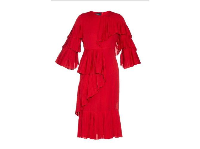 Gucci Dress Dresses Silk Red Ref 42161 Joli Closet