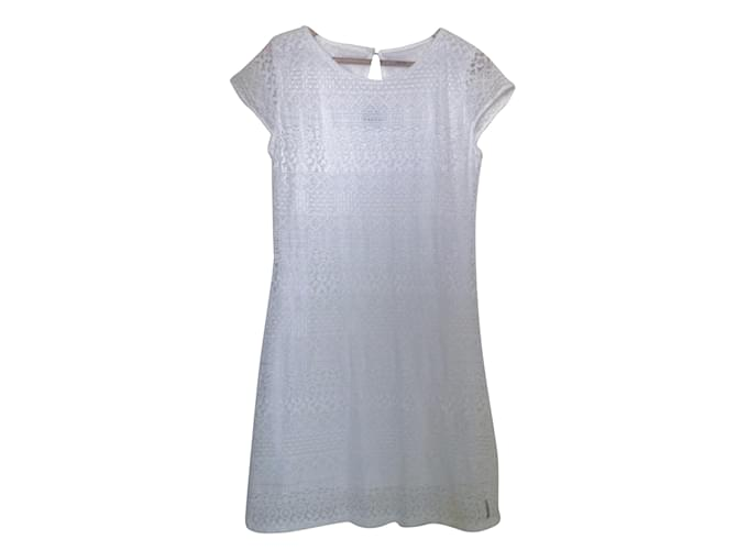 fc4eb1380630b Autre Marque Blanc du Nil Dress Dresses Cotton White ref.42176 ...