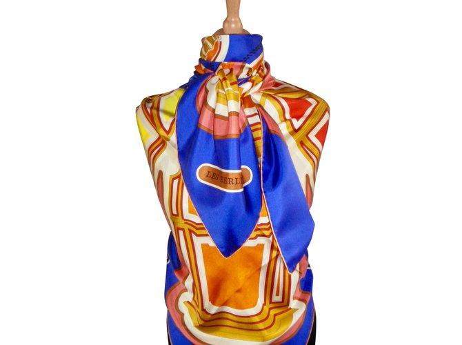 Hermès The BERLINES Silk scarves Silk Multiple colors ref.42191