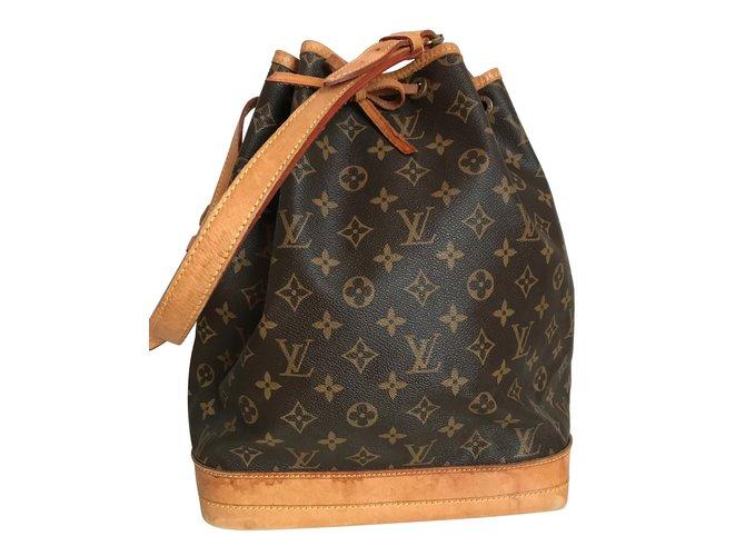 572a358537ae9 Louis Vuitton Louis Vuitton Sac Noe GM Grande Canvas Monogram Totes  Leather