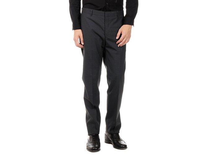 2f2f946f Prada men's stretch wool fabric pants new