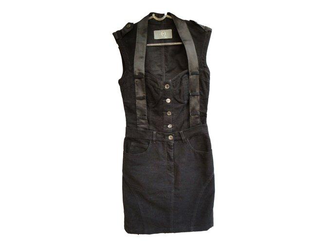 Alexander Mcqueen Dresses Dresses Cotton Black ref.42322