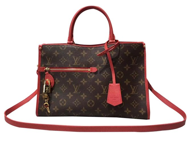 8018219eacf Louis Vuitton popincourt mm red louis vuitton Handbags Leather Red ref.42660
