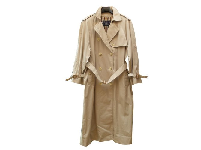 Burberry Trench coats Trench coats Cotton Beige ref.43073
