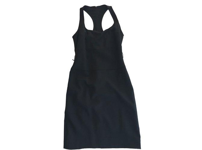 Robes Dsquared2 Robe Laine Noir ref.43734
