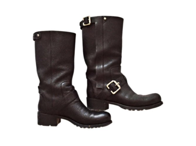 Dior Biker boots Ankle Boots Leather
