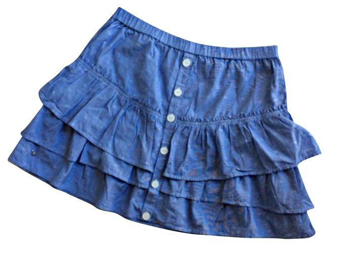 Cotton Petits Des Blue Hauts Ref Skirts Joli 43855 Closet xBedoWrC