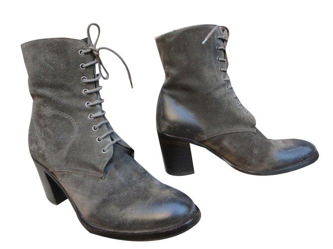 c347eee03d Prada Ankle Boots Ankle Boots Deerskin Taupe ref.43891 - Joli Closet