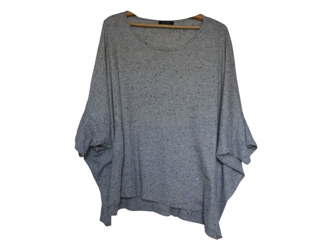 Tops Bel Air Tops Coton Gris ref.44041