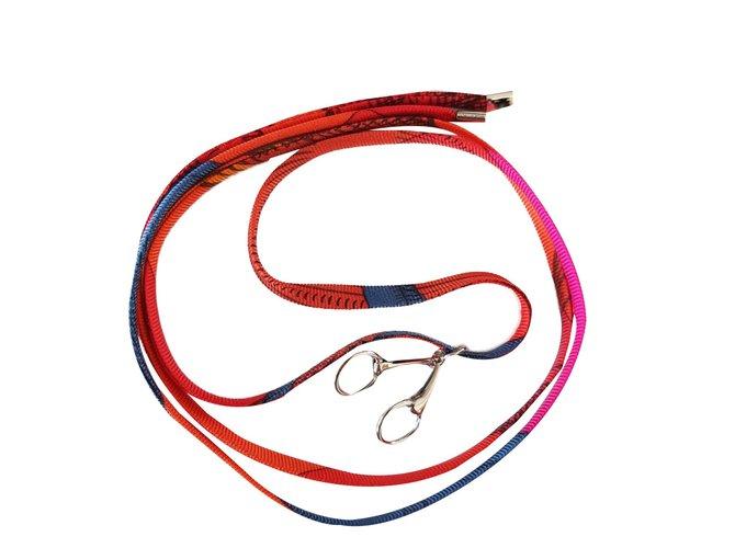 Bracelets Hermès Bracelet Soie Multicolore ref.44277 - Joli Closet 1f46f394098
