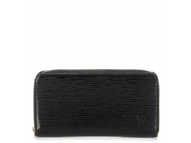 7da0d6bb8f37 Portefeuilles Louis Vuitton Portefeuilles ZIPPY Cuir Noir ref.44618 ...
