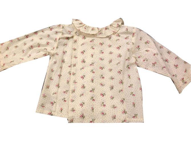 Tops fille Bonpoint Blouse Coton Rose ref.44635