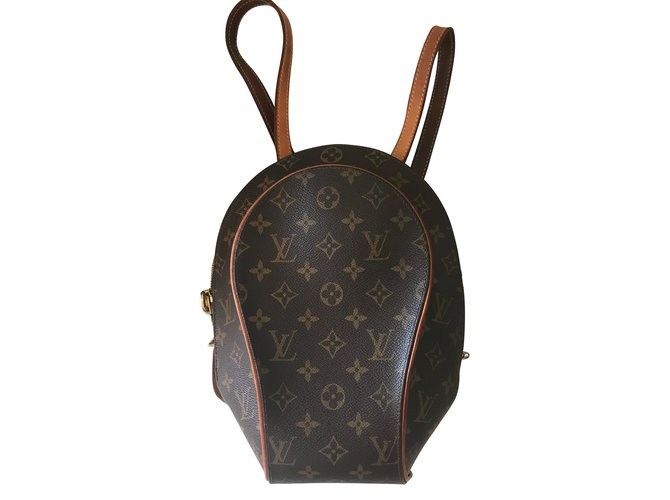 bf0060db642a Louis Vuitton Backpacks Backpacks Leather Brown ref.45265 - Joli Closet