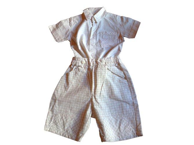 Autre Marque Top Outfits Cotton White ref.45459
