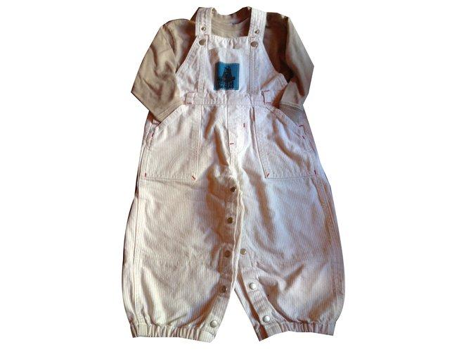 Autre Marque Top Outfits Cotton Beige ref.45460