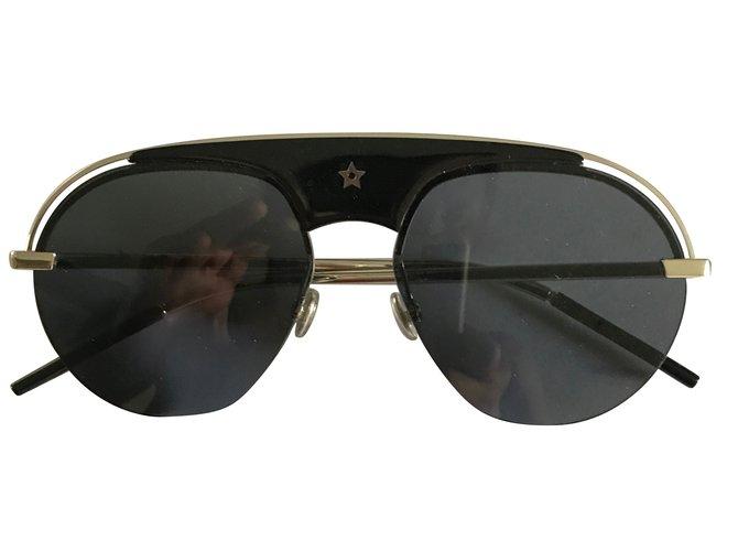 Lunettes Christian Dior Dior revolution silver Métal Noir ref.45522 ... bf3a496782a3