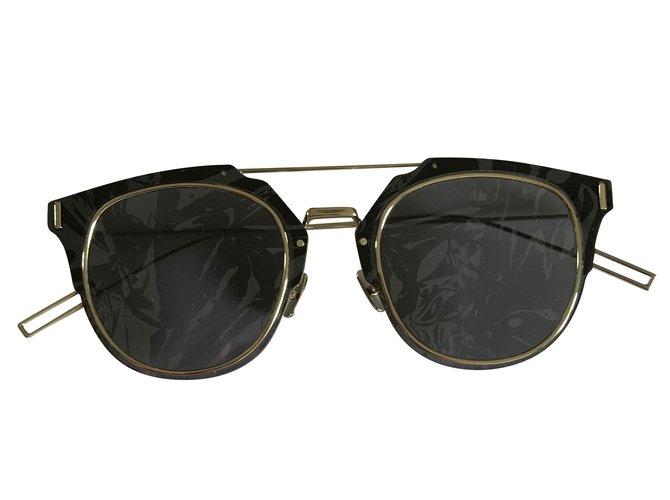 b2efc8c36dd7 Christian Dior Dior composit 1 Sunglasses Metal Grey ref.45527 ...