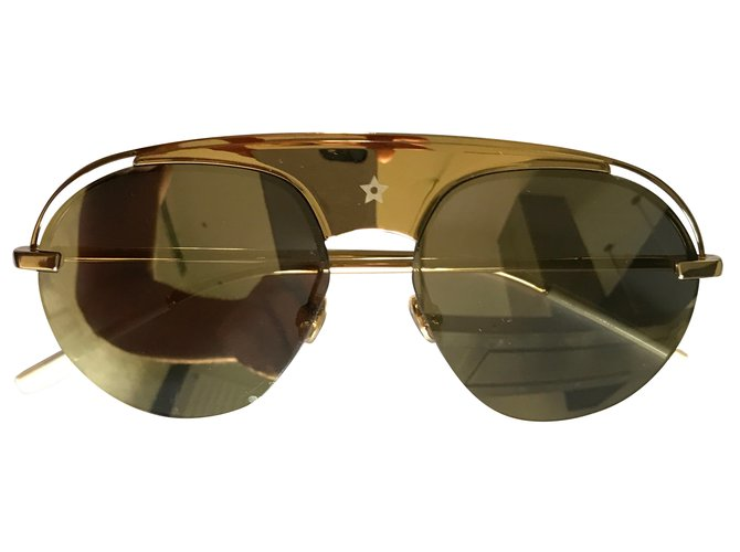 976267faf5 Christian Dior Dior revolution 2 Sunglasses Metal Golden ref.50189 ...